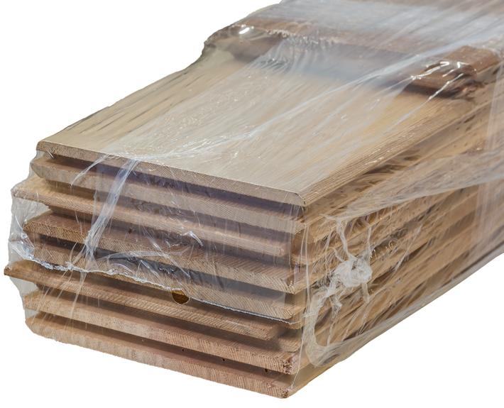 päätypontattu tuija-paneeli kuluttajapakkaus Kärnsund Wood Link