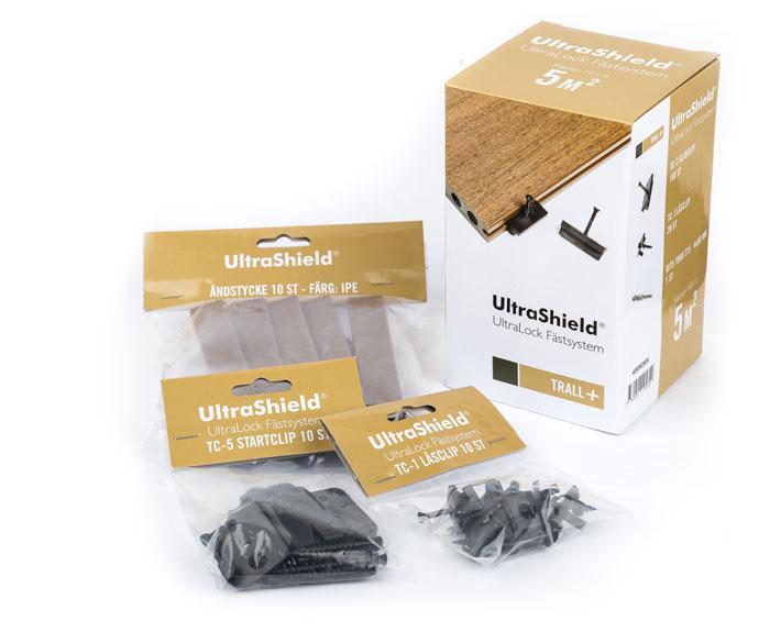 UltraLock - UltraShield Kompsiittitterassilauta- Skandinaviska Träimport