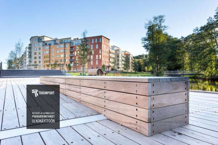 Prefab maisemarakentaminen Skandinaviska Träimport